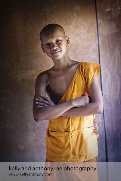Monk Cambodia Kelly and Anthony Rae Photography