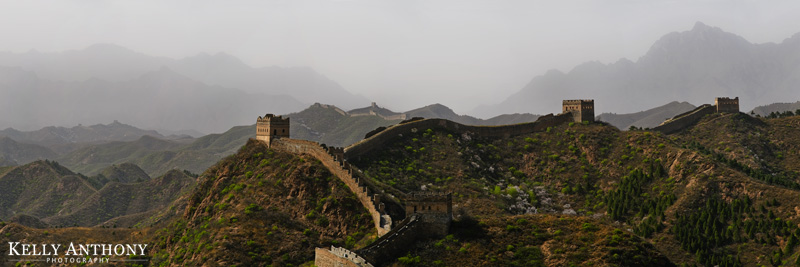 Great Wall of China, Kelly Anthony Photography