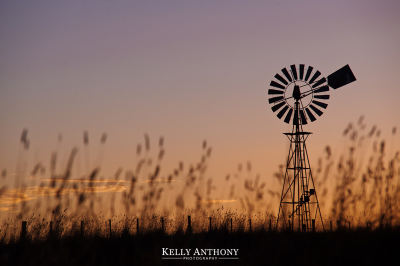Great Ocean Road Windmill and Sunset