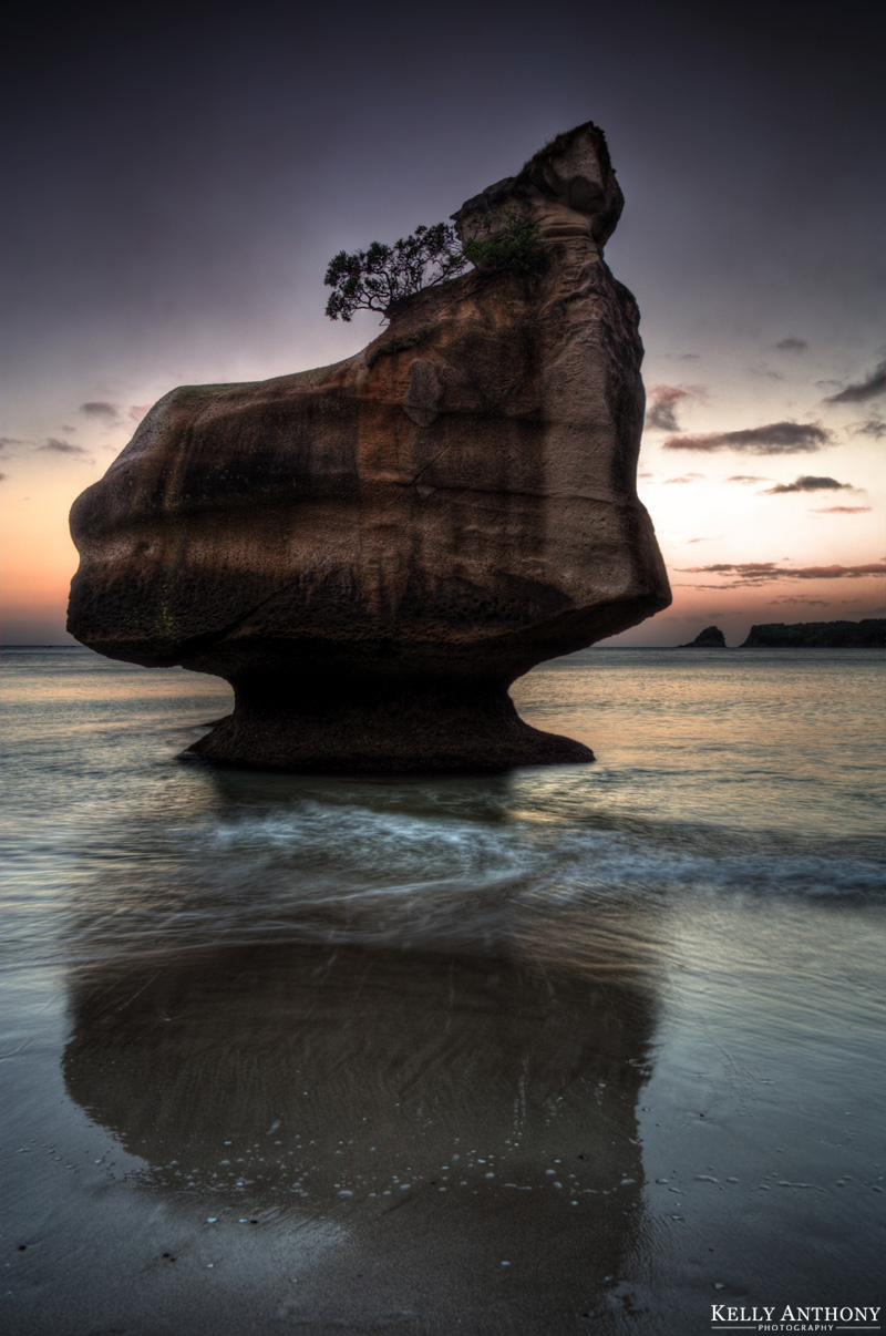 Travel Photography New Zealand Cathedral Cove