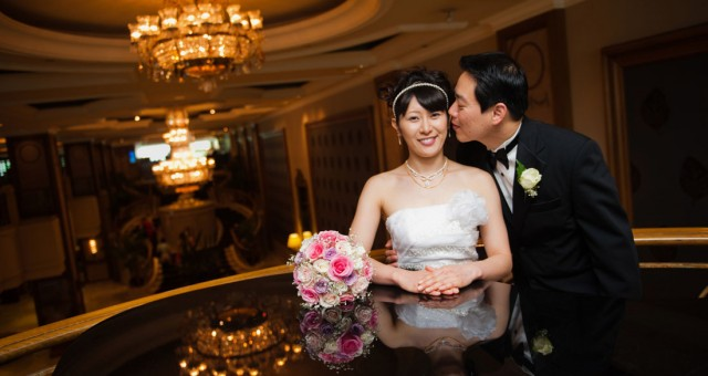 Melbourne Wedding Photographer | Langham Hotel