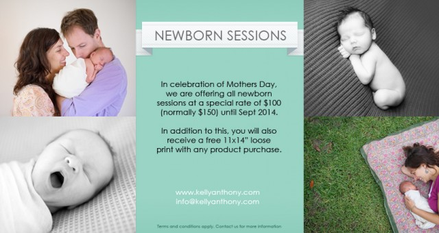 Mothers Day Newborn Portrait Sessions